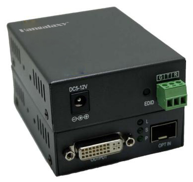 4K DVI Fiber Optic Extender HD-123D Series